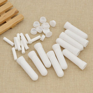 10 Sets Perfume Blank Nasal Inhalers Oil Aromatherapy Diffusers Best Price New