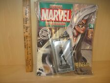 Black Cat Sexy Statue Eaglemoss Metal with Magazine Sealed Never Opened