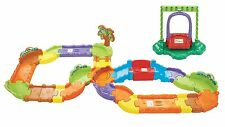 VTech Go! Go! Smart Wheels Deluxe Track Playset Enhance childs creativity