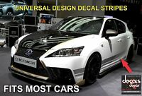 Rocker Panel Stripes Fits LEXUS RX, IS, CT, ES, GS, LS, NX, GX, LX, RC, Hybrids