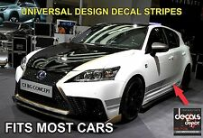 Stripes Fits Most Cars Like Lexus Toyota Honda Chevy BMW Ford Nissan and more