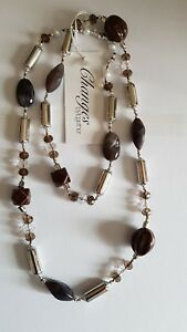X high street store New Chunky beaded large Necklace