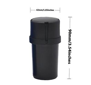 Smell Proof container with grinder  US SELLER SAME DAY SHIP