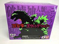BANDAI S.H. MonsterArts GODZILLA VS EVANGELION feat. EVA-01 xx397