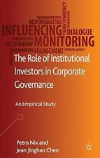 New, The Role of Institutional Investors in Corporate Governance: An Empirical S