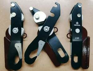Climbing descender device Vertical like Petzl Stop (made in Russia)