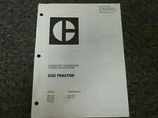 Caterpillar Cat D3C Tractor Powershift Transmission Shop Service Repair Manual