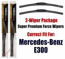Wipers Hi-Performance fits 08, 09, 12, 13, 15, 16 Mercedes-Benz E300 - 25240x2