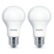 2x Philips LED Frosted E27 100w Warm White Edison Screw Light Bulbs Lamp 1521lm