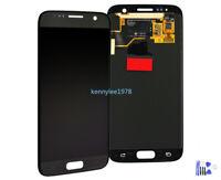 Per Samsung Galaxy S7 SM-G930F Lcd Display Touch Screen Schermo Vetro+cover Nero