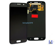 Para Samsung Galaxy S7 SM-G930F pantalla lcd táctil display screen negro+cover