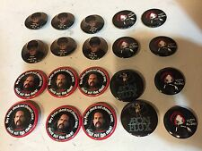 Novelty 20 pcs Pins Buttons ' The Office ' They Made Me Do It ETC. New Lot of 20