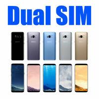Samsung Galaxy S8 G950FD S8 Plus G955FD Dual SIM 4G LTE Unlocked FREE SHIPPING