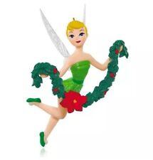 Tink the Halls 2015 Hallmark Ornament  Disney Fairies Tinker Bell  Garland Pixie