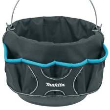 MAKITA P-72095 BUCKET TOTE TOOL FIXINGS CARRYING BAG ORGANISER WITH 18 POCKETS