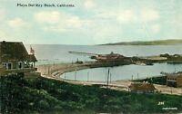 C-1910 Playa Del Ray Beach California Tichnor postcard 8391