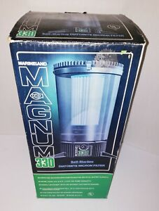 MARINELAND MAGNUM 330 Canister Fish Tank Filter. New Open Box, NOS, NICE!