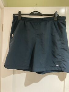 Mens Nike Fit Dry Navy Blue Shorts Size M
