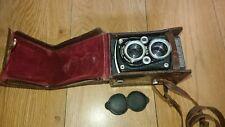 MICROCORD ENGLAND Micro Precision vintage Camera M.P.P &Leather case