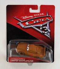 Mattel Disney Pixar Cars 3 Diecast Auto McQueen als Chester Whipplefilter Neu