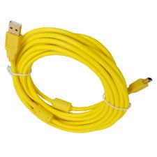 16FT Yellow Tether Cable- Camera Nikon Nikon D4s D3 D4 D30 D90 D610 D600 D7000