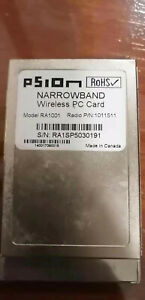 PSION TEKLOGIX NARROWBAND network card RA1001 PN: 1011511/1011531 450~470MHz