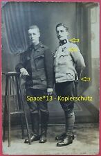 Foto Kuk Soldaten Portrait mit Orden & Bajonett, Monarchie Soldier MG Truppe wk1