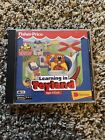 Fisher-Price Learning In Toyland PC MAC CD learn shape matching sing-along Game