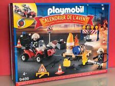 Playmobil NAvidad calendario de adviento bomberos en accion 9486