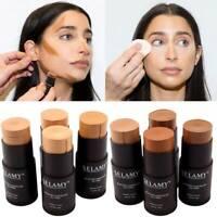 1pc Foundation Makeup Full Cover Contour Face Concealer Moisturizer Hide Blemish