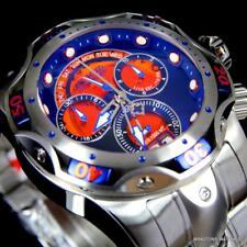 Invicta Venom Platinum Select Swiss Made 52mm Steel Sapphire Blue Watch New