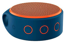 brand new LOGITECH X100 Mobile Bluetooth Wireless Speaker Blue/Orange Color