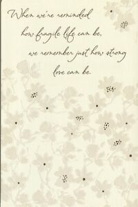American Greetings Sympathy Card: Remember Just How Strong Love Can Be...
