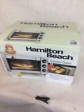 Hamilton Beach 31401 4 Slice Toaster Oven - Stainless Steel