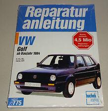 Reparaturanleitung VW Golf II C / CL / GL / Carat / GTi / GTi 16V -  ab 1984!