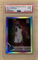 2019-20 Donruss Optic Holo Silver Eric Paschall RC Rookie Prizm PSA 9 Mint