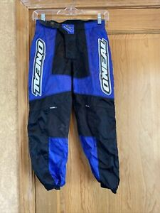 Oneal Elements  Racing Pants Made W/ Kevlar youth Size 12T