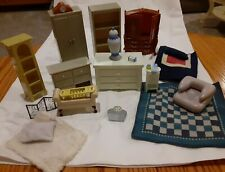 Laura Ashley Jazwares Room By Room Miniature Dollhouse Furniture Lot