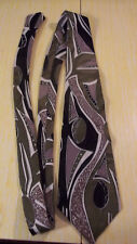 AZIA COLLECTION POLYESTER MENS CHURCH WORK WEDDING SUITE DRESS TIE (#7)