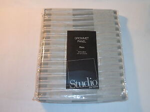 JC Penney Studio Grommet Curtain Panel - Rizzo Steeple Gray