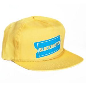 Vintage 90s Era Blockbuster Video Strapback Hat Cap 5 6 panel Snapback vhs NEW