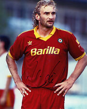 Rudi Voller - Ex Roma & West Germany - Italia'90 -  Signed Autograph REPRINT