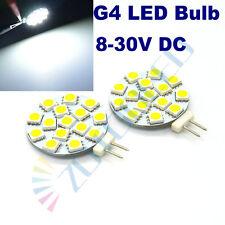 4x G4 led bulb 15LEDs Pure White replace 30W Halogen Bulbs 12-24V DC home light