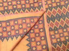 Om Vintage Indian Sari 100% Pure Silk Priented Brown Saree Fabric 5 Yard ZA11726