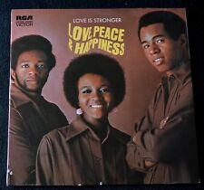 LOVE, PEACE & HAPPINESS-LOVE IS STRONGER-FUNK/SOUL-LSP-4535-1975-SEALED LP