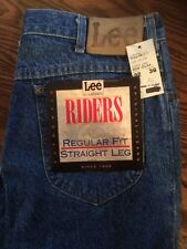 Lee Riders Men's Jeans 32/36 NWT Regular Fit Straight Leg