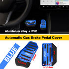 [blue] Automatic Gas Brake Foot Pedal Pad Cover Car Parts Non-slip Universal Ear