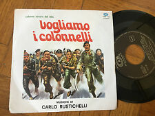 "7"" ITALY OST   NM  Carlo Rustichelli ‎– Synthetizer Rhythmic Label: CAM ‎–"