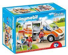 Playmobil 6685 City Life Children's Hospital Ambulancia Con Luces Y Sonido