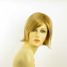 short wig for women smooth golden blond ref MARINA 24B PERUK